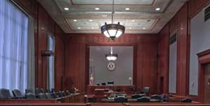 image of conference hall for BUSINESS LITIGATION section